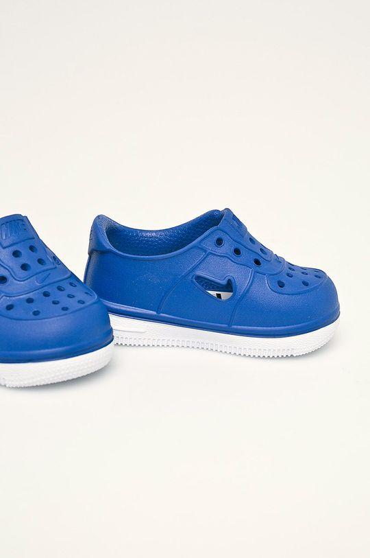 Nike Kids - Дитячі черевики  Foam Force 1 блакитний