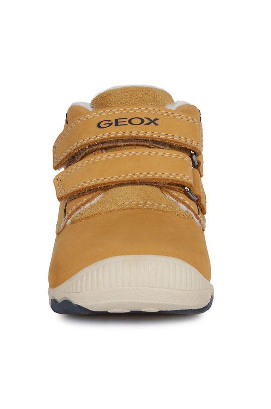 Geox - Dětské boty Svršek: Přírodní kůže Vnitřek: Textilní materiál Podrážka: Umělá hmota