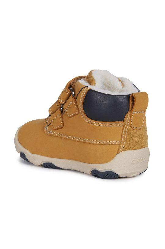 olivová Geox - Dětské boty