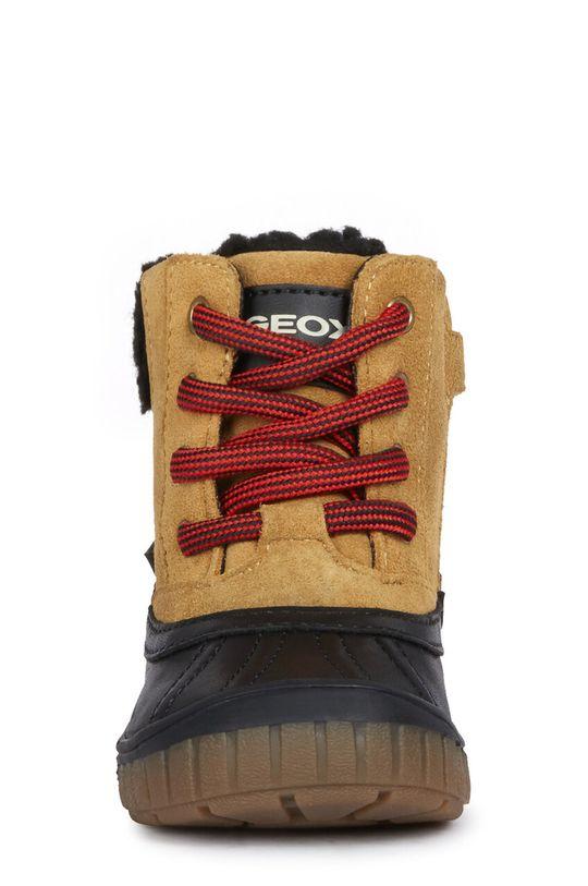 Geox - Detské topánky  Zvršok: Textil, Prírodná koža Vnútro: Textil Podrážka: Syntetická látka