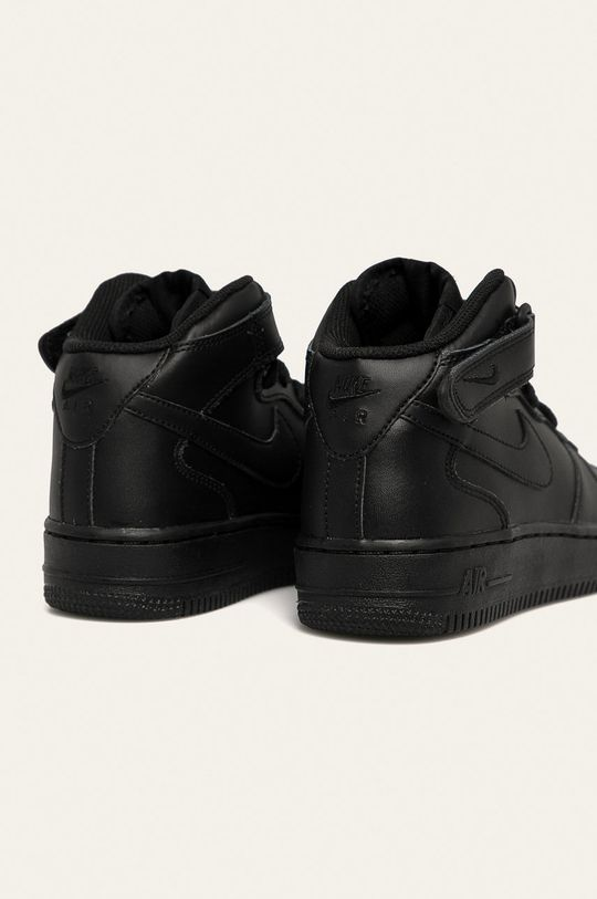 Nike Kids - Дитячі черевики Air Force 1 Mid  Халяви: Натуральна шкіра Внутрішня частина: Текстильний матеріал Підошва: Синтетичний матеріал