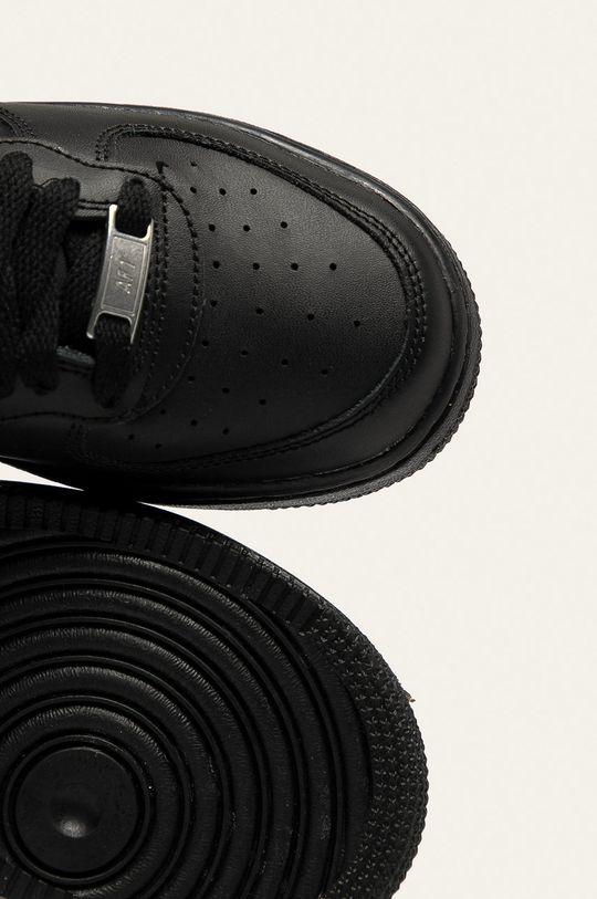 чорний Nike Kids - Дитячі черевики Air Force 1 Mid