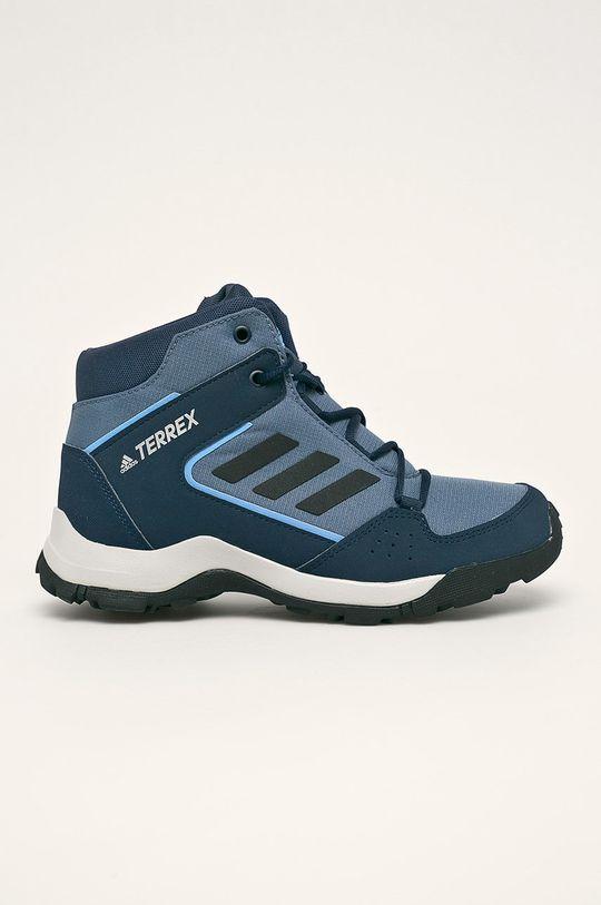 tmavomodrá adidas Performance - Detské topánky Terrex Hyperhiker Chlapčenský