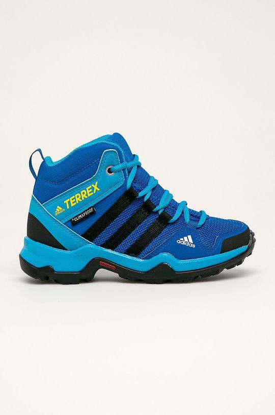 albastru adidas Performance - Pantofi copii Terrex AX2R Mid CP De băieți