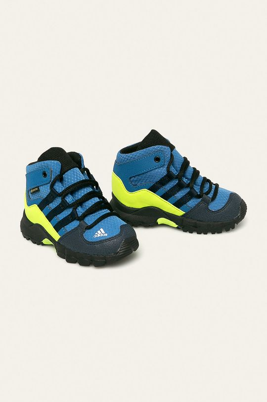 adidas Performance - Buty dziecięce Terrex Mid Gtx I niebieski