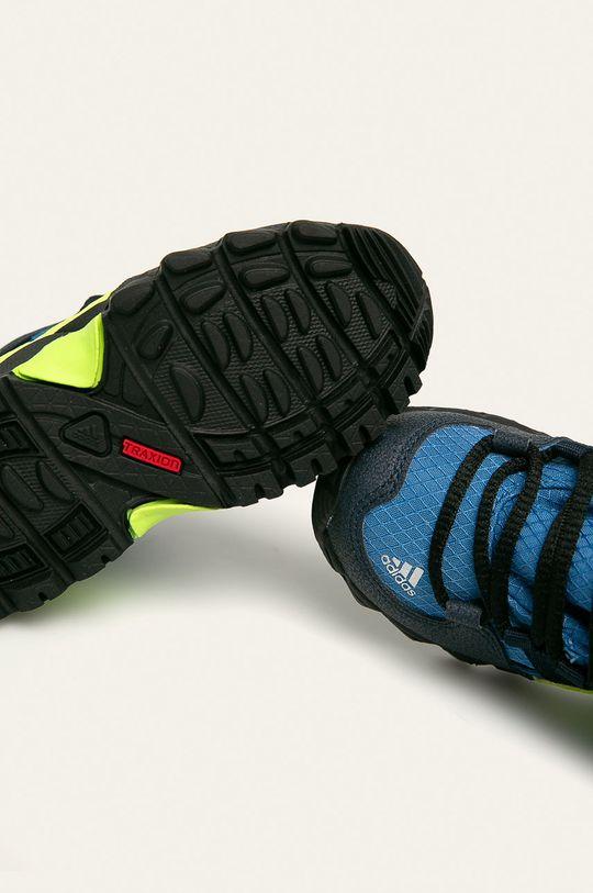 niebieski adidas Performance - Buty dziecięce Terrex Mid Gtx I