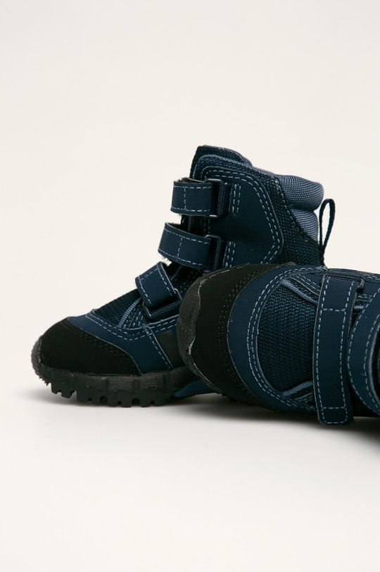 námořnická modř adidas Performance - Dětské boty CW Holtanna Snow Cf I