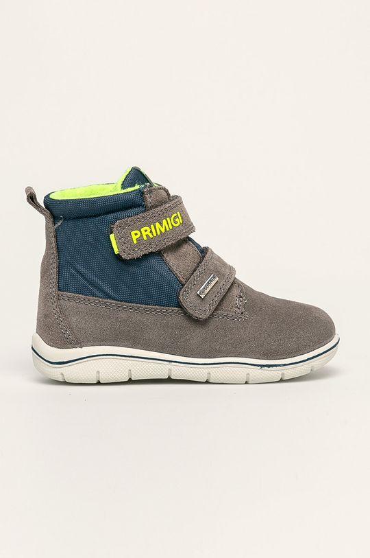 šedá Primigi - Dětské boty Chlapecký