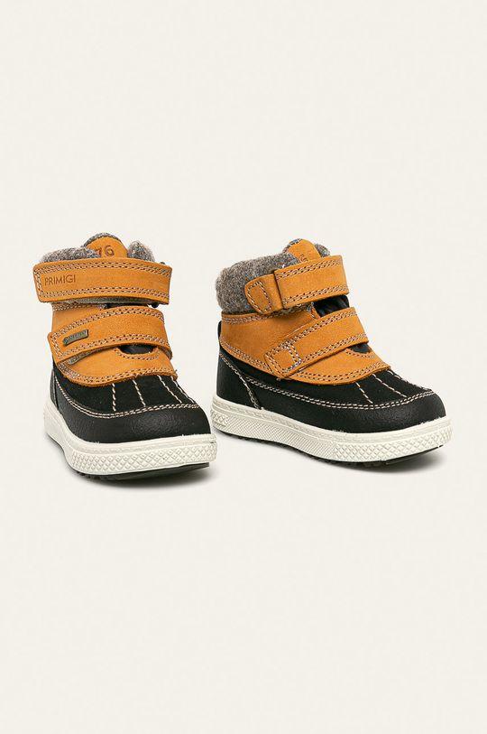 Primigi - Detské topánky žltá