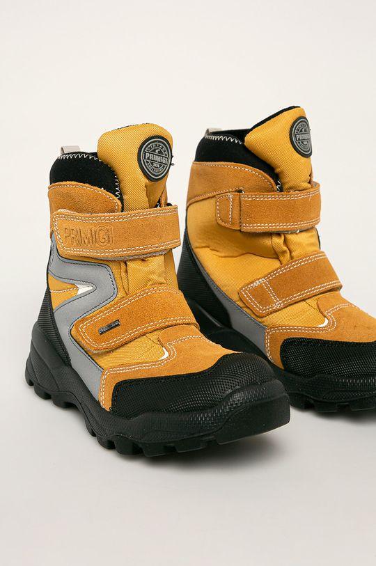 Primigi - Dětské boty jantarová