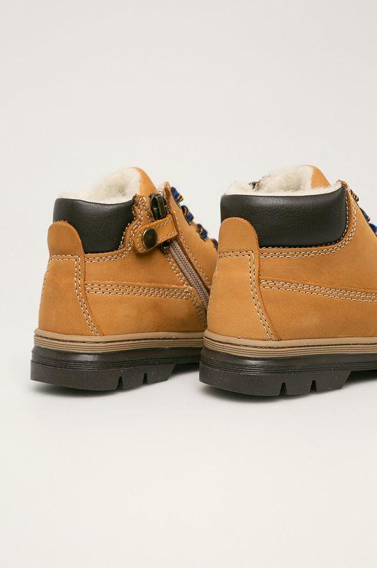 Primigi - Dětské boty Svršek: Přírodní kůže Vnitřek: Vlna Podrážka: Umělá hmota