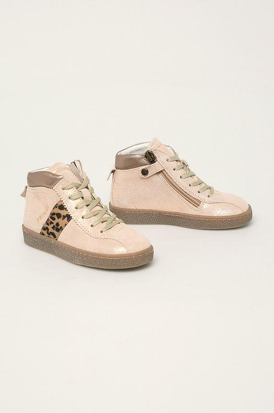 Primigi - Dětské boty béžová