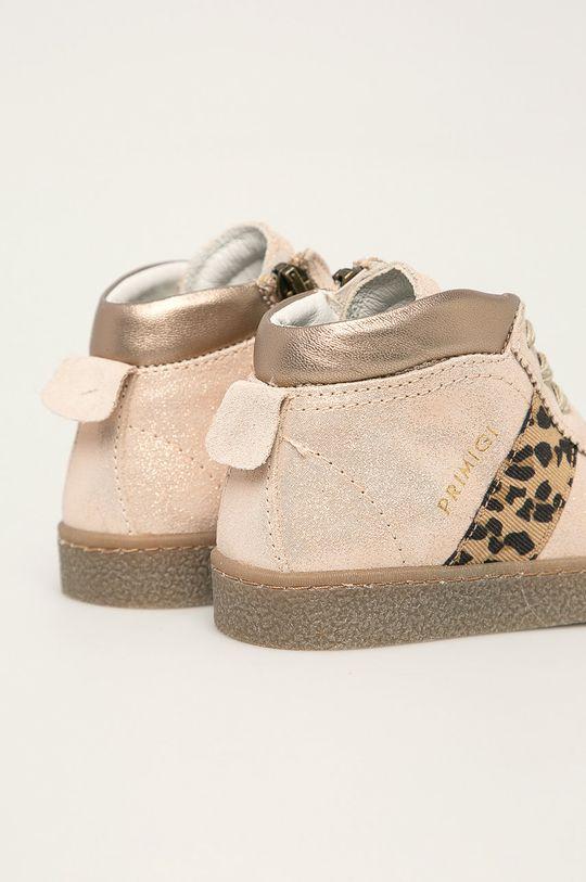 Primigi - Dětské boty Svršek: Přírodní kůže Vnitřek: Přírodní kůže Podrážka: Umělá hmota