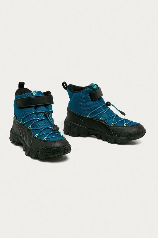 Puma - Dětské boty Maka Puretex V modrá