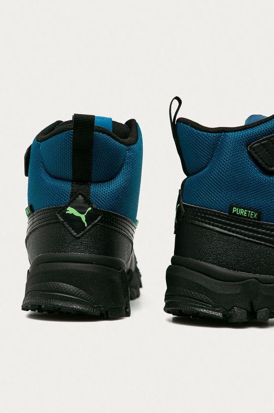 Puma - Dětské boty Maka Puretex V  Svršek: Textilní materiál Vnitřek: Textilní materiál Podrážka: Umělá hmota