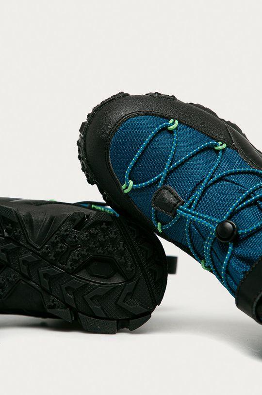 modrá Puma - Dětské boty Maka Puretex V