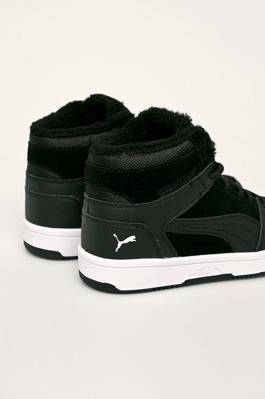 Puma - Detské topánky Rebound Layup Fur SD  Zvršok: Syntetická látka, Prírodná koža Vnútro: Textil Podrážka: Syntetická látka