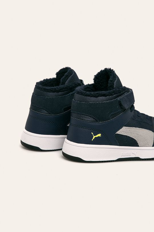 Puma - Detské topánky Rebound Layup Fur SD V PS  Zvršok: Syntetická látka, Prírodná koža Vnútro: Textil Podrážka: Syntetická látka
