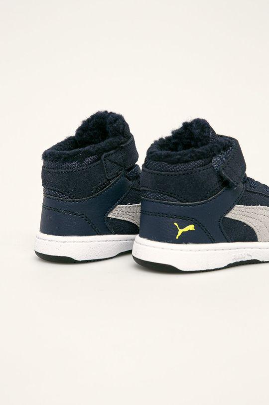 Puma - Detské topánky Rebound Layup Fur SD V Inf  Zvršok: Syntetická látka, Prírodná koža Vnútro: Textil Podrážka: Syntetická látka