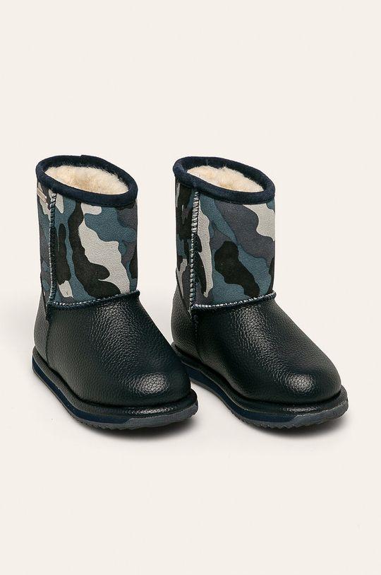 Emu Australia - Buty dziecięce Commando Trigg granatowy