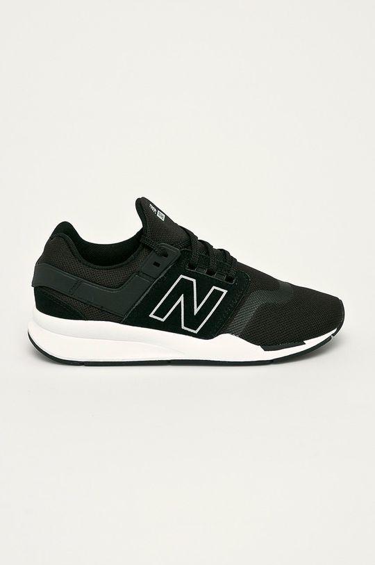 čierna New Balance - Topánky GS247FR Chlapčenský