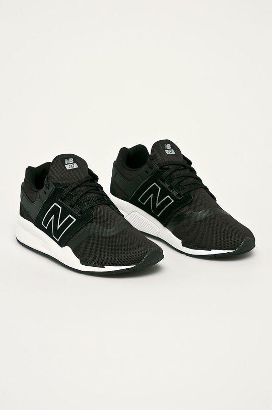 New Balance - Topánky GS247FR čierna