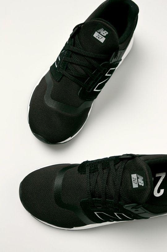 čierna New Balance - Topánky GS247FR