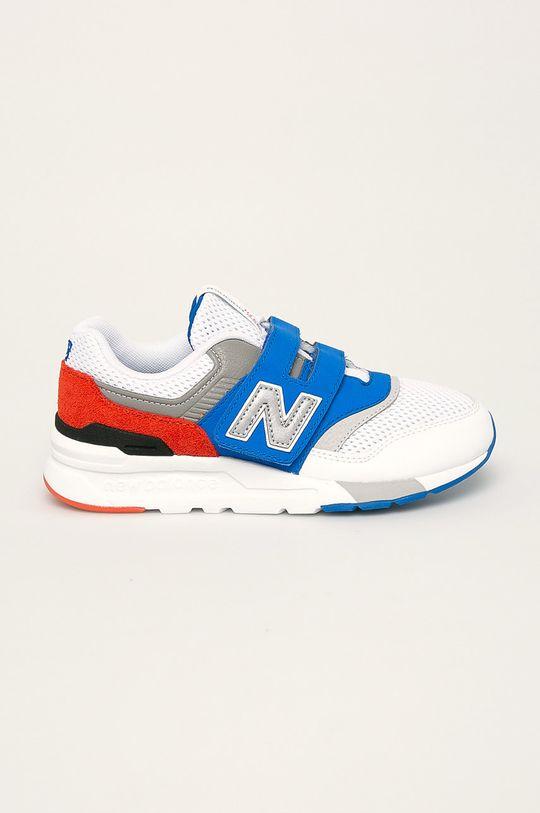 бял New Balance - Детски обувки PZ997HZJ Момче
