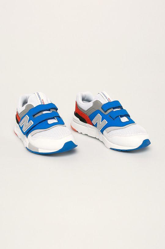 New Balance - Детски обувки PZ997HZJ бял