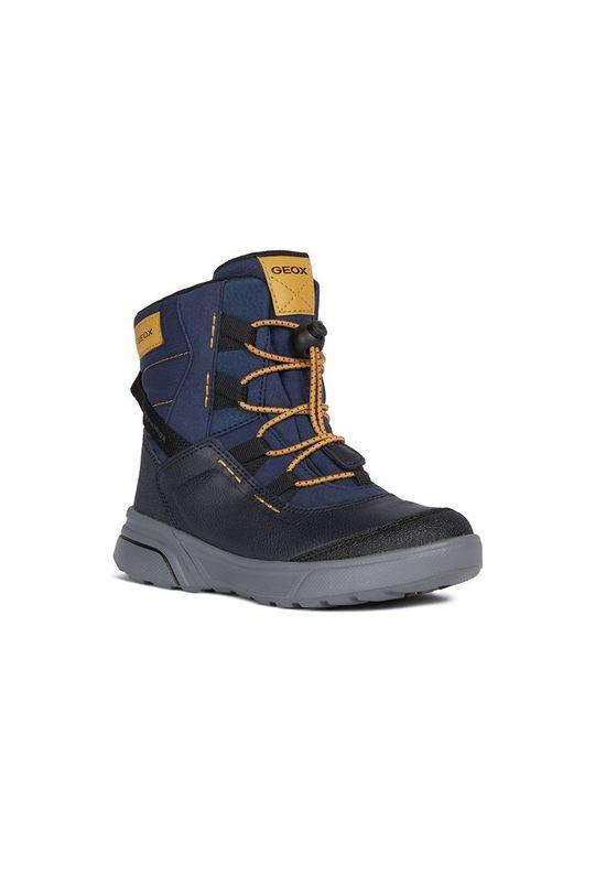 Geox - Zimné topánky tmavomodrá