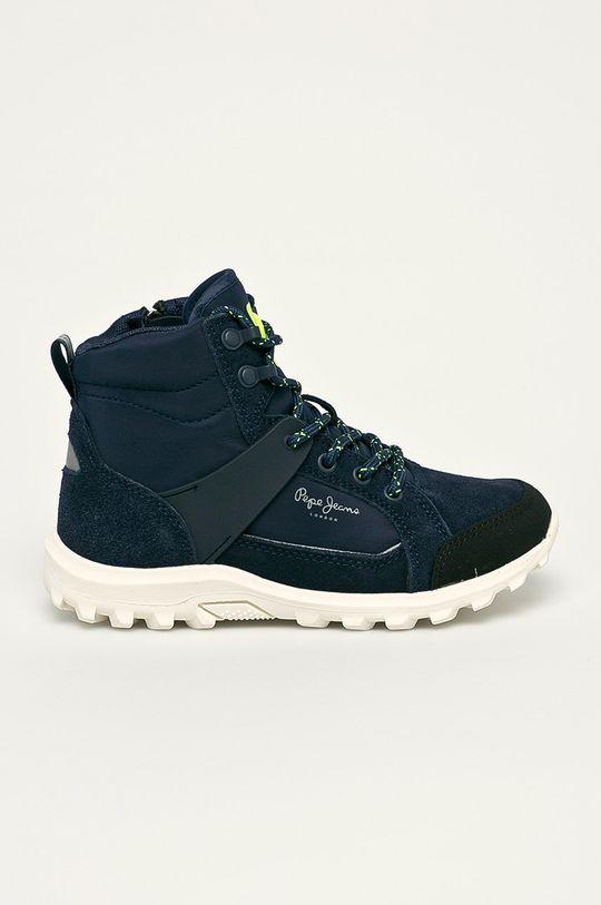 námořnická modř Pepe Jeans - Dětské boty Chlapecký