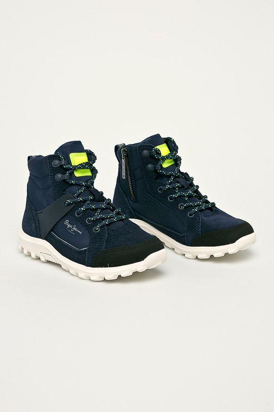 Pepe Jeans - Dětské boty námořnická modř