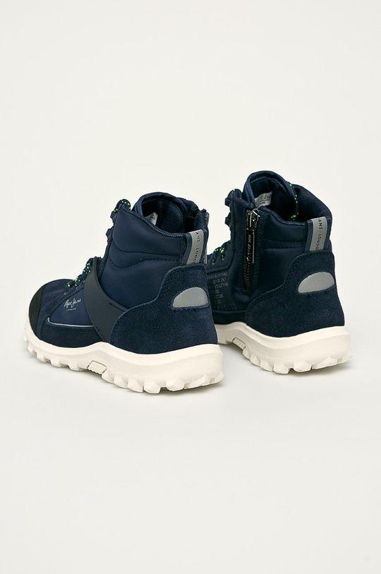 námořnická modř Pepe Jeans - Dětské boty