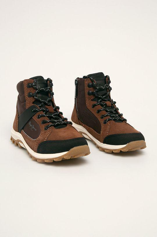 Pepe Jeans - Detské topánky hnedá