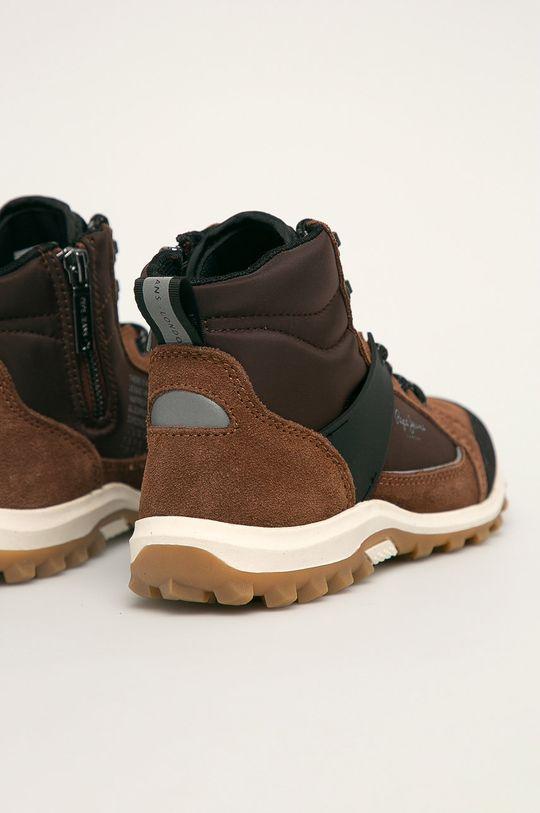 hnedá Pepe Jeans - Detské topánky