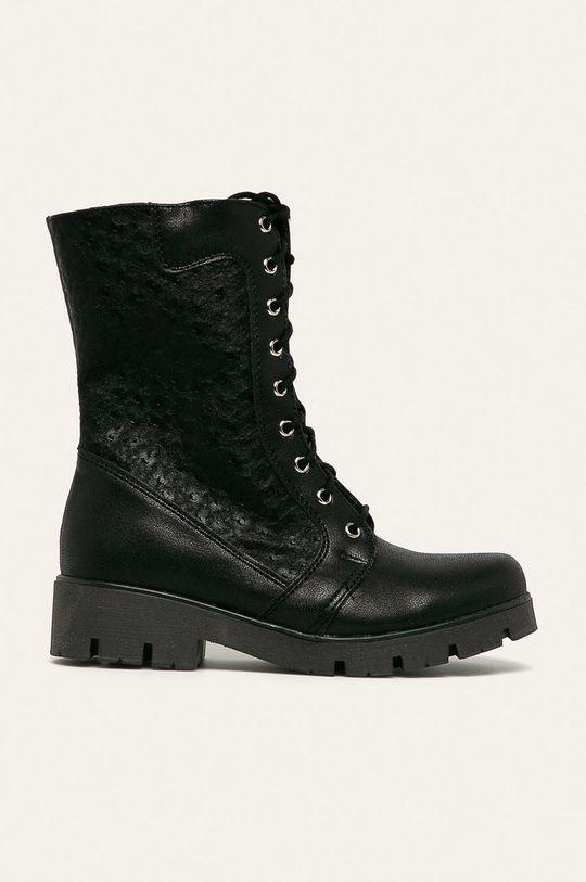 černá Kornecki - Dětské boty Chlapecký