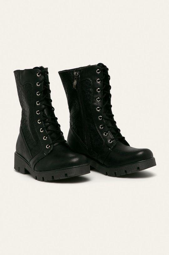 Kornecki - Dětské boty černá