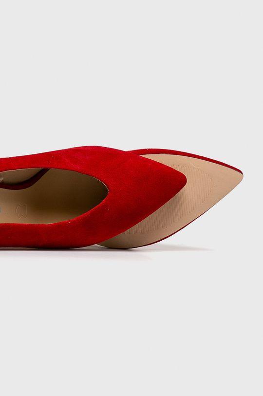 rosu Caprice - Pantofi cu toc