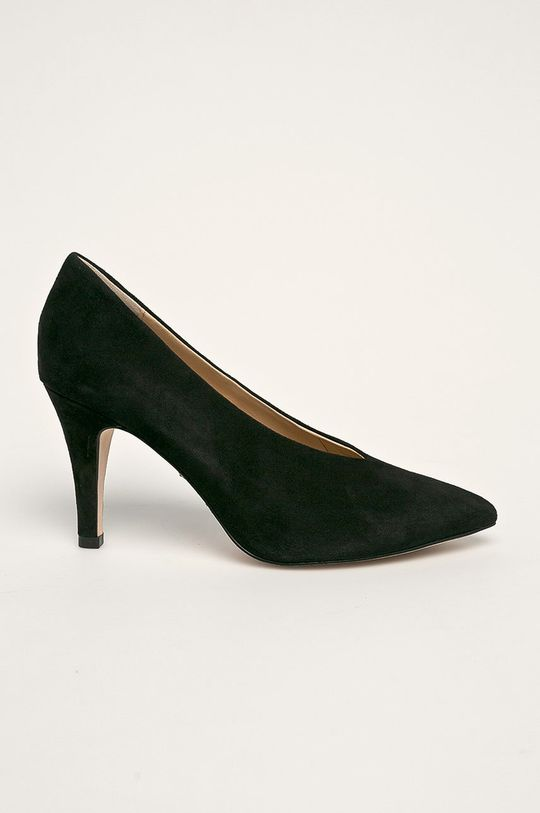 negru Caprice - Stilettos de piele De femei