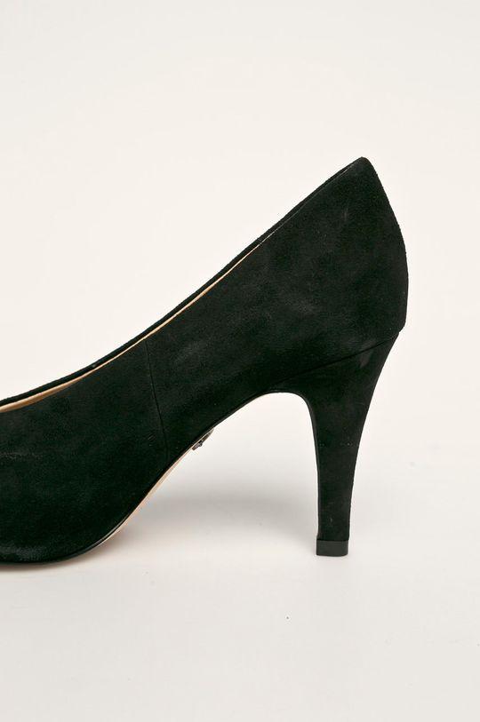 negru Caprice - Stilettos de piele