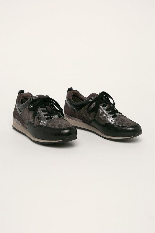 Caprice - Topánky sivá