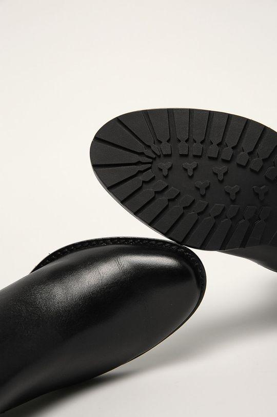 čierna Caprice - Členkové topánky