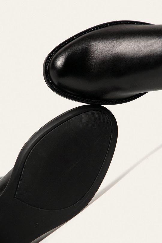 negru Caprice - Ghete de piele