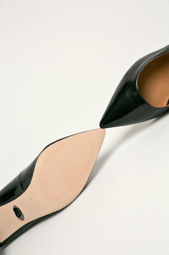 negru Caprice - Pantofi de piele