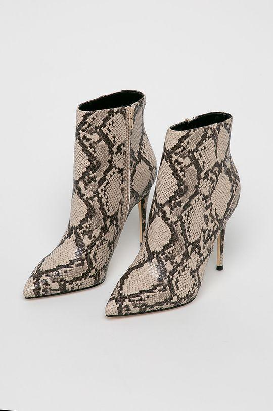 Guess Jeans - Členkové topánky béžová