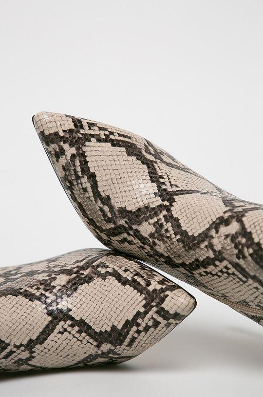 béžová Guess Jeans - Členkové topánky