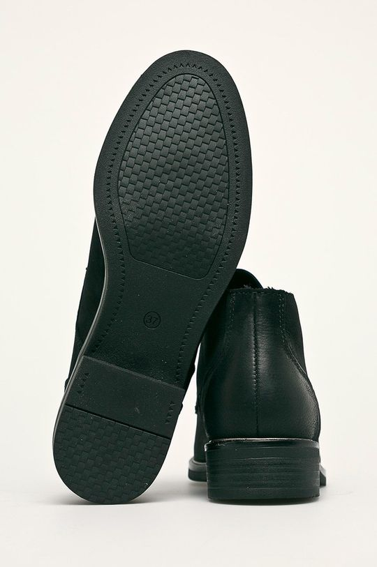 čierna Marco Tozzi - Členkové topánky