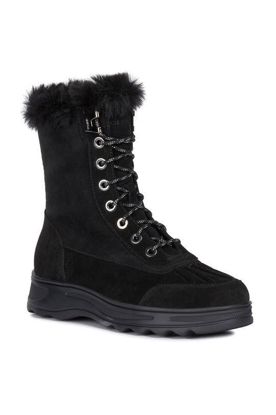 Geox - Snehule čierna