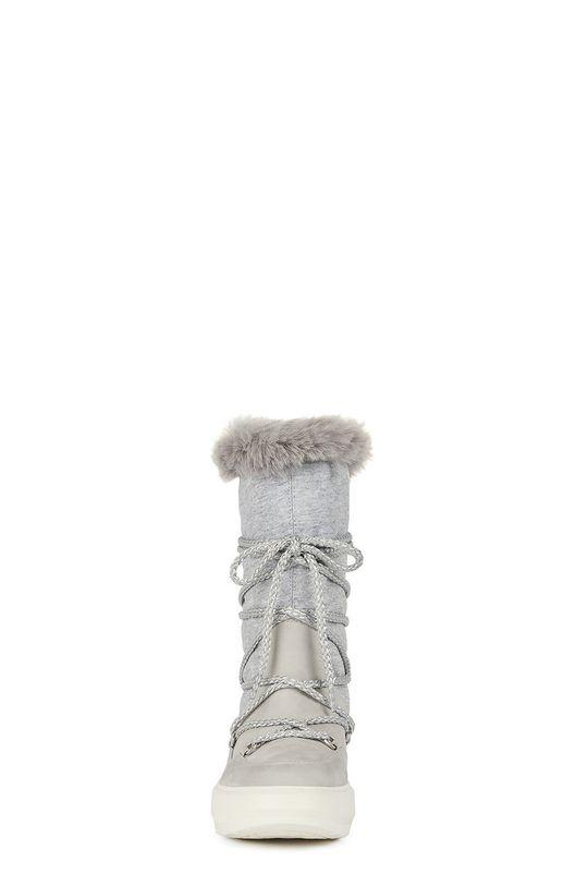 Geox - Snehule  Zvršok: Textil, Prírodná koža Vnútro: Textil Podrážka: Syntetická látka