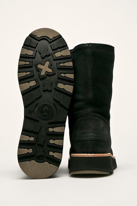 čierna Panama Jack - Členkové topánky